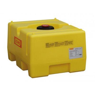 Serbatoi a cassetta in polietilene, giallo, 125 l