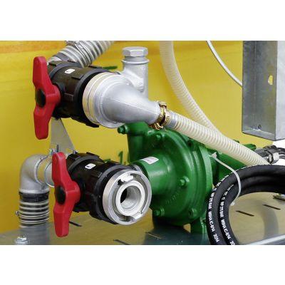 Pumpe mit Hydraulikmotor