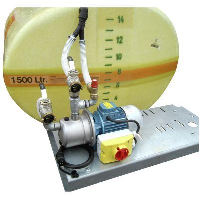 Elektropumpe bis 60 l/min, 24 V / 19 A / DC