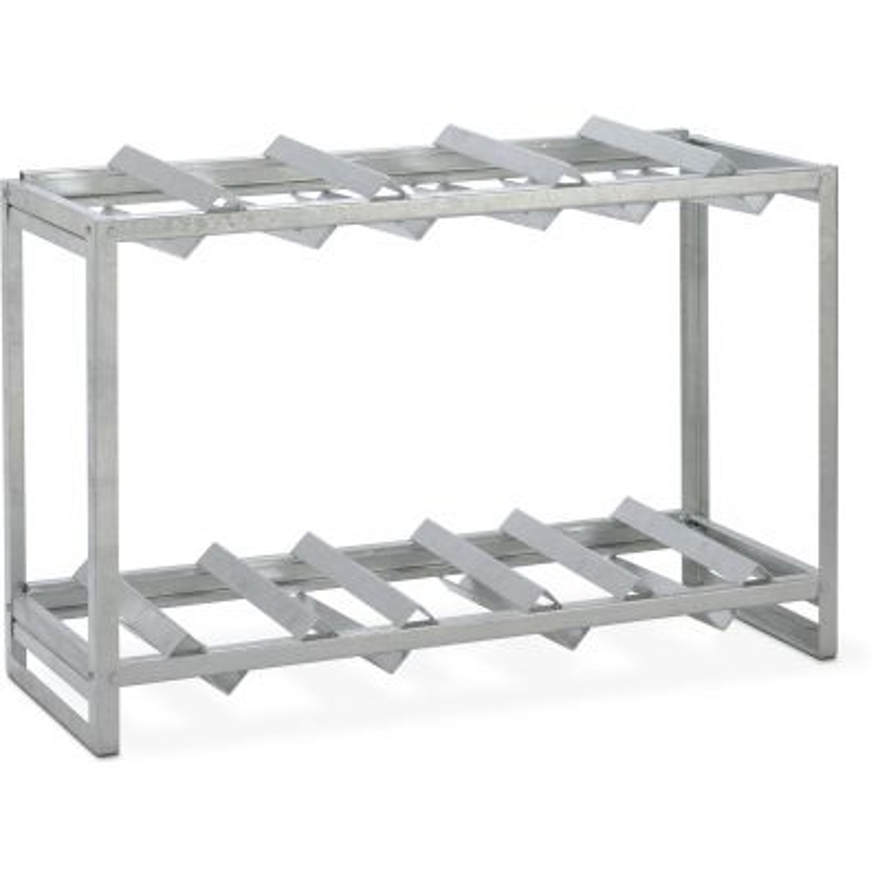 Fassregal für Gefahrstoffdepot aus Stahl