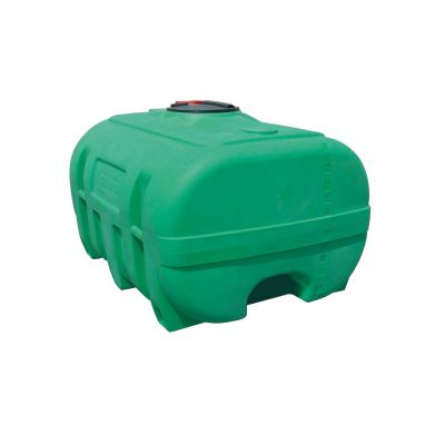 Serbatoio per pastura in polietilene, verde, 600 l, senza diaframma antisciacquio
